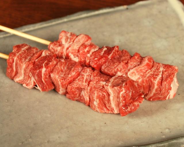 噛めば噛むほど味が出る肉汁がたっぷりの部位です.
