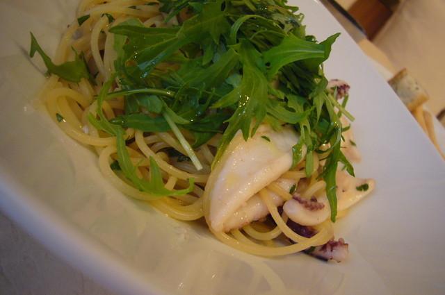 ラティーナ - 乌贼と水菜のオイルスパ