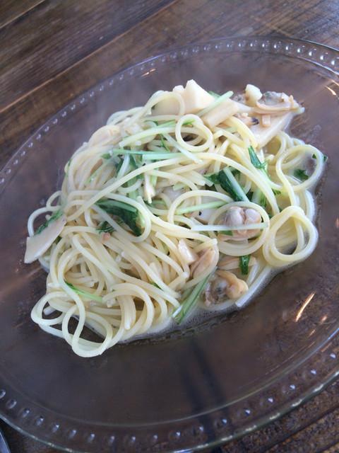 ユイット - 笋,水菜,あさりの和风ソース