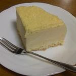 2段のチーズケーキ