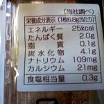 栄養成分♪