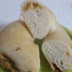 豆と野菜のカレーベーグル