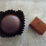 栗のショコラと生チョコレート