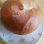 かぼちゃクリームチーズベーグル