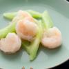 メゾン・ド・ユーロン - 料理写真:海老のガーリック炒め