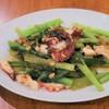 アジアンキッチン - 料理写真:タコの青菜炒め