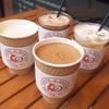 最強のバターコーヒー - ドリンク写真:最強のバターブラックモカ、ホワイトモカ