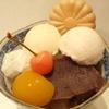 菊丸 - 料理写真:あんみつ桜盃     ¥850