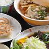 とんちんかん - 料理写真:ラーメン定食(レバニラ炒め、又はギョーザ)