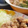 とんちんかん - 料理写真:各セットメニュー(天津飯、中華飯、チャーハン、唐揚げ)