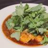 竹餃 - 料理写真:パクチーのせ麻婆豆腐