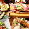贅食家 千壽 - 料理写真:手間暇かけた、美味しい「串&寿司」をたっぷりと