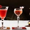 ジャングル ジャップ - ドリンク写真:いちご・日本酒・デゥポンのカクテル