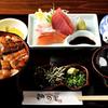 朝日屋 - メイン写真:刺身・うなぎ定食
