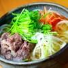 菅乃屋 - 料理写真:【期間限定】馬肉入り稲庭うどん