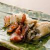 定谷 - 料理写真:ぷりっぷりな牡蠣とベーコンソテー