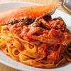 カジュアルイタリアン アルバータ - メイン写真:渡り蟹の生パスタ_トマトクリームソース