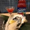 はたがやレバー - 料理写真:クラマトを生牡蠣に、バツグンの相性です。
