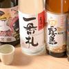 日本橋うどん酒場ほし野 - メイン写真:日本酒・焼酎