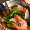 Por Ta Vinho IZARRA  - 料理写真:ポルトガル南部アルガルヴェ地方の郷土料理『カタプラーナ(ポルトガル風 魚介と季節野菜の鍋』