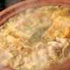 麺酒房 実之和 - 料理写真:土鍋で煮込む名代かれー鍋★スパイシーな香りが食欲をそそる逸品!