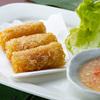 台南担仔麺 - メイン写真:海老春巻き