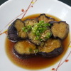 金の穂銀の水 - 料理写真:茄子の揚げ浸し 495円
