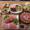 かね竹 - 料理写真:かね竹特撰コース 7,000円(各宴会コースの写真は4人前です)