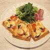最強のバターコーヒー - 料理写真:揚げ豆腐のピザ