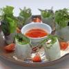 樹里 - 料理写真:琉球ハーブの生春巻き
