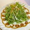 七味亭 - 料理写真:京水菜とじゃこのサラダ
