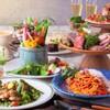 コロニアルガーデン - 料理写真:リニューアル記念オススメ料理が入ったコース