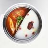 NANI 回転小火鍋 - 料理写真:トマトとバイタン の二色鍋