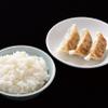 麺侍 誠 - 料理写真:餃子セット
