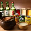 韓国トン一 - メイン写真:ドリンク集合
