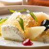 ガストロノミーソール ヤナギヤ - メイン写真:白桃と水牛のモッツァレラ