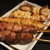 串焼きダイニング十兵衛 - 料理写真:串焼き5本盛りには野菜串が1本入ってます。