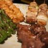 串焼きダイニング十兵衛 - 料理写真:5本盛りの2人前、ぼんじり、ねぎま、豚はらみ等です。