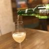 欧風カレーとオムライス リトルヤミー  - ドリンク写真:ビールをおしゃれにワイングラス♪