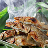 北新地 弁天 - 料理写真:夏の旬の味覚!琵琶湖産鮎の塩焼き