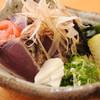 鯨海 - 料理写真:かつおの塩タタキ