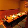 鉄板焼鳥食堂 個室で鳥蔵 - 内観写真:最大25名様収容が出来る完全個室です