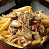 cafe&bar boo - 料理写真:たっぷりのキノコと香り豊かなポルチーニ『キノコたっぷりポルチーニのペンネ』