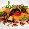 レストラン&me - 料理写真:サーモンのポワレ 秋の味覚添え