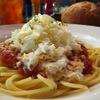 オールドスパゲティファクトリー - 料理写真:モツァレラチーズ&トマトソースのスパゲティ