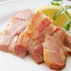BIER REISE '98 - 料理写真:こだわりハム屋の厚切りベーコン