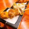 本格焼鳥 大名 へて - 料理写真:必食の黒さつま串3本セット