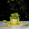 シャトー ラ・パルム・ドール - 料理写真:グリーンアスパラガスのシャルロット'ライムの香り'
