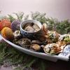 満潮 - 料理写真:海賊焼き盛り合せ(写真は九種盛り三人様用)