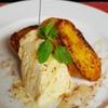 Wine&Cafe Sai - 料理写真:フレンチトーストまろやかバニラアイス添え